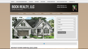 Camden, SC Website Design - Bock Realty & Bock Construction