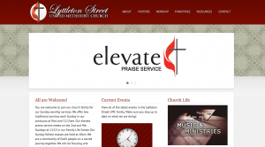 Camden, SC Website Development - Lyttleton Street UMC